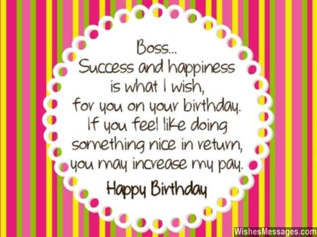 Best ideas about Happy Birthday Boss Quotes . Save or Pin Birthday Wishes for Boss Quotes and Messages Now.