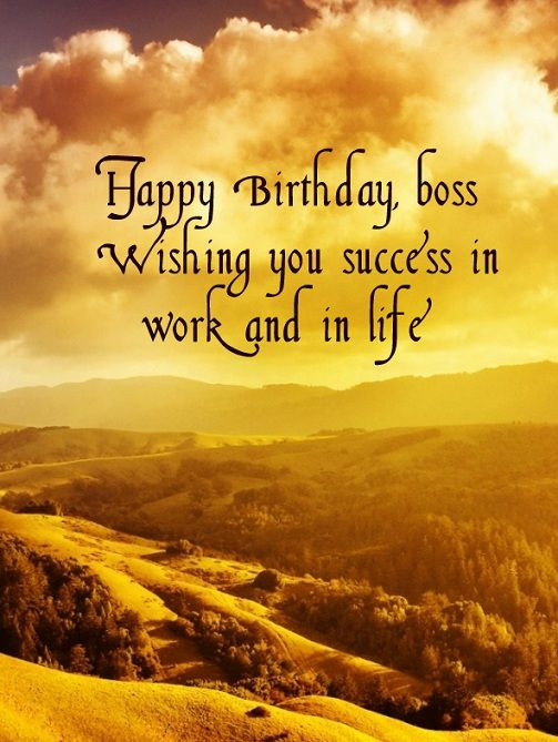 Best ideas about Happy Birthday Boss Quotes . Save or Pin 1000 ideas about Happy Birthday Boss on Pinterest Now.