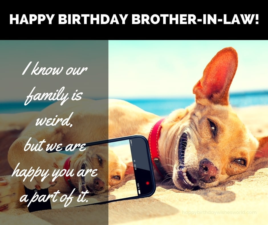 Best ideas about Happy Birthday Brother In Law Funny . Save or Pin 100 Happy Birthday Brother in Law Wishes Find the Now.