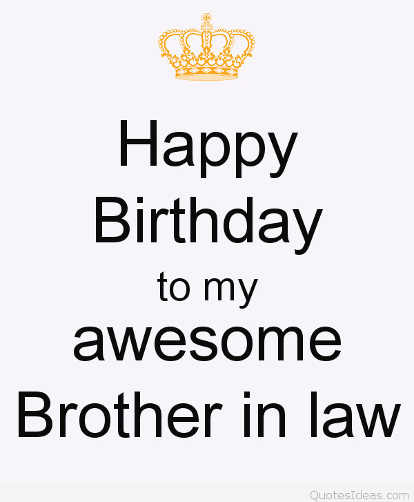 Best ideas about Happy Birthday Brother In Law Funny . Save or Pin BIRTHDAY QUOTES FOR BROTHER IN LAW FUNNY image quotes at Now.