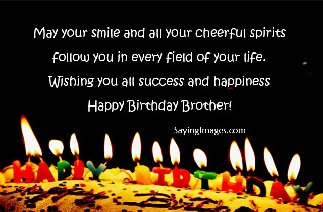 Best ideas about Happy Birthday Brother Quotes . Save or Pin 20 Happy Birthday Wishes & Quotes for Brother Now.