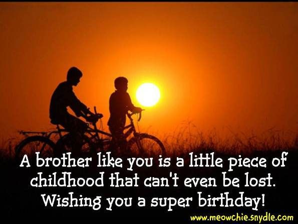 Best ideas about Happy Birthday Brother Quotes . Save or Pin Happy Birthday Wishes Birthday Messages Birthday Now.