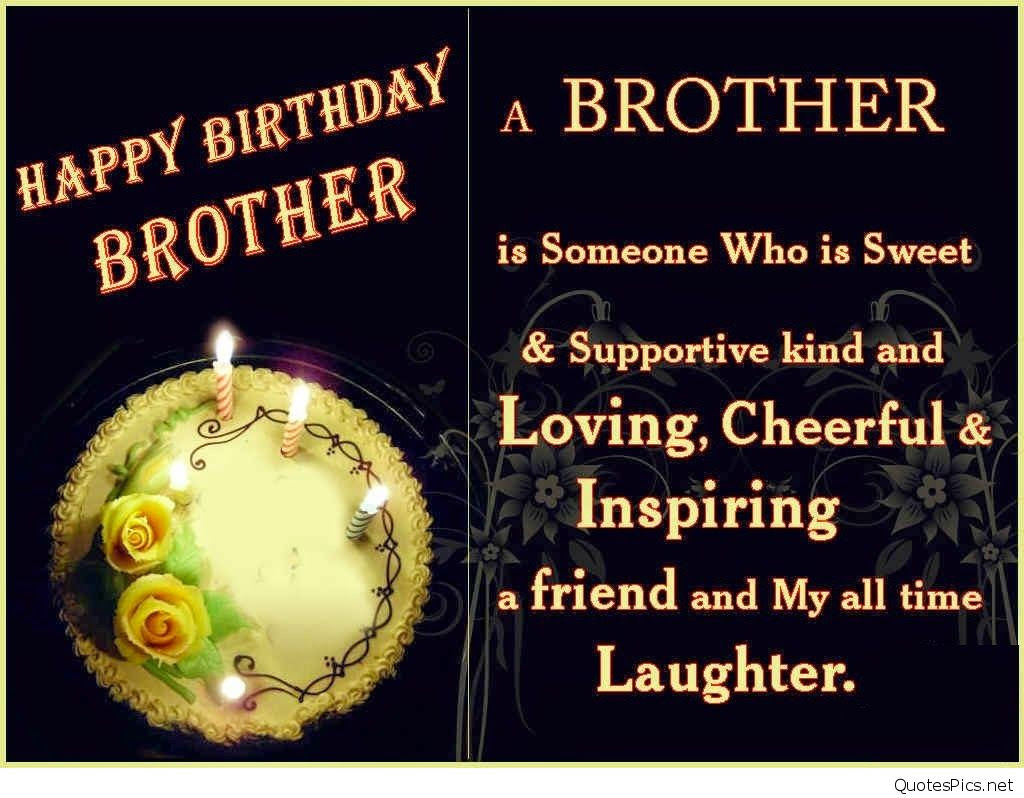 Best ideas about Happy Birthday Brother Quotes . Save or Pin Happy Birthday Brother 50 Brother s Birthday Wishes Now.