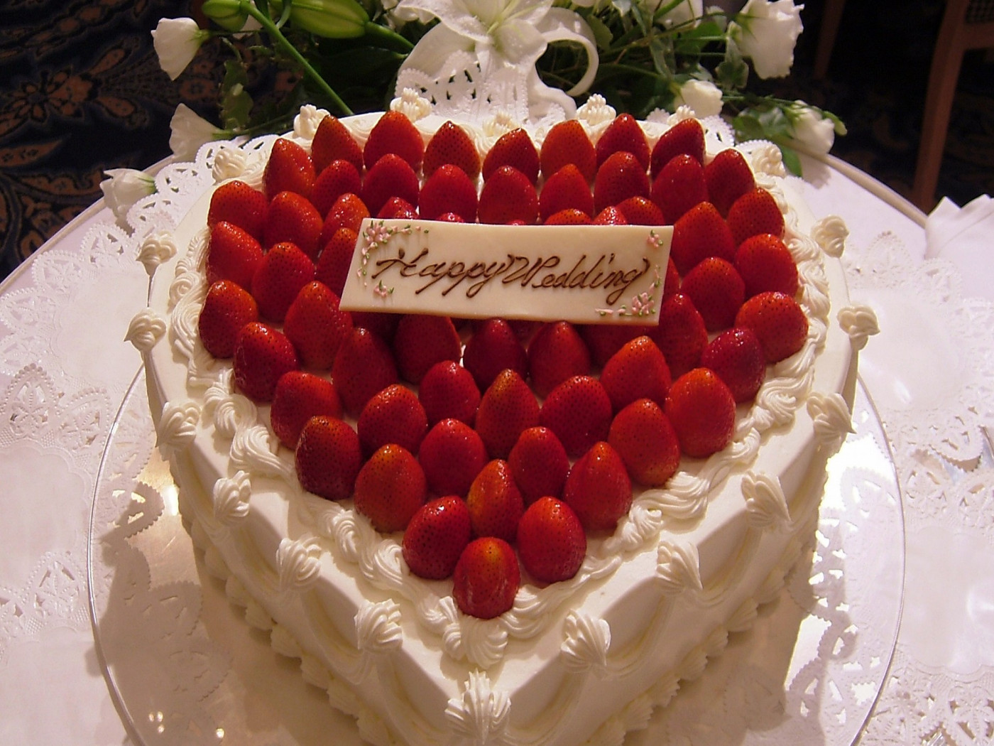 Best ideas about Happy Birthday Cake Pictures . Save or Pin Happy Wedding cakes images and pictures Wishes Pics Now.