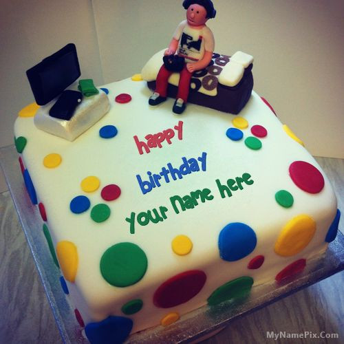 Best ideas about Happy Birthday Cake Pictures With Name . Save or Pin Best 1 Website for name birthday cakes Write your name Now.