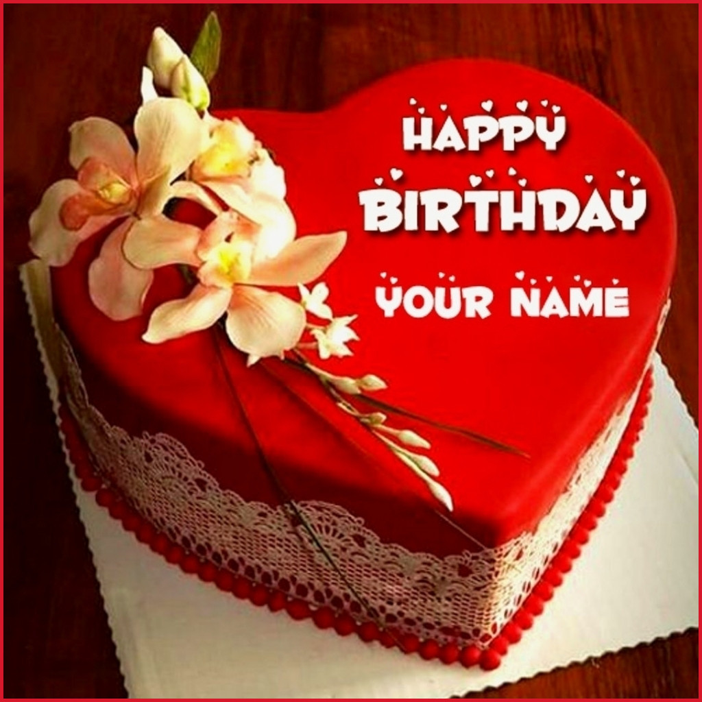 Best ideas about Happy Birthday Cake Pictures With Name . Save or Pin Fresh Birthday Cake with Name Edit s Birthday Now.