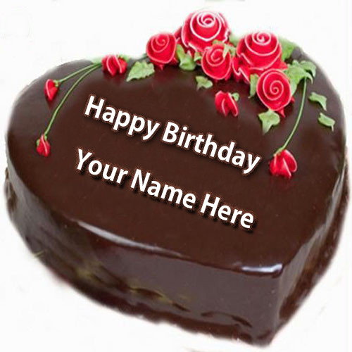 Best ideas about Happy Birthday Cake Pictures With Name . Save or Pin Write Name on Happy Birthday Cake and Send on Whatsapp Now.
