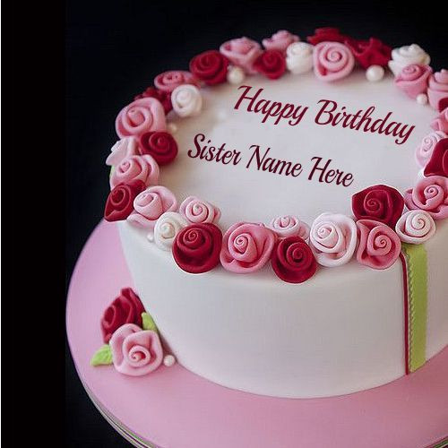 Best ideas about Happy Birthday Cake Pictures With Name . Save or Pin Happy Birthday Cake with Name and Now.
