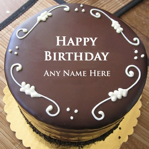 Best ideas about Happy Birthday Cake Pictures With Name . Save or Pin happy birthday cake with name – Write name on image Now.
