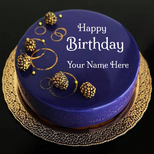 Best ideas about Happy Birthday Cake Pictures With Name . Save or Pin Write Your Name on brithday cakes online pictures editing Now.
