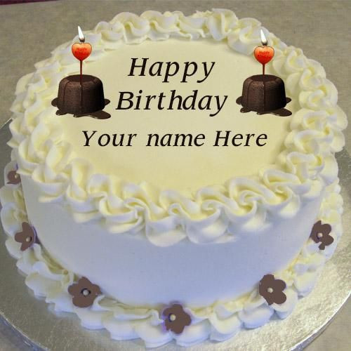 Best ideas about Happy Birthday Cake Pictures With Name . Save or Pin 40 best images about Happy Birthday Cakes on Pinterest Now.