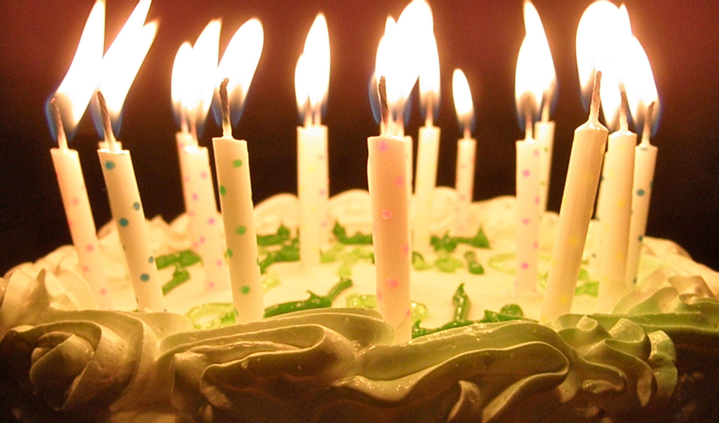 Best ideas about Happy Birthday Cake With Candles . Save or Pin 20 Magnificent Happy Birthday Wallpaper Collection Now.