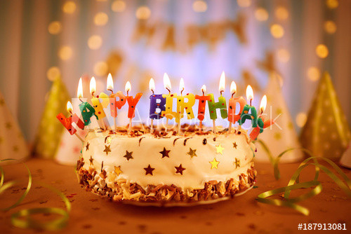 Best ideas about Happy Birthday Cake With Candles . Save or Pin Happy birthday cake with candles Buy this stock photo Now.