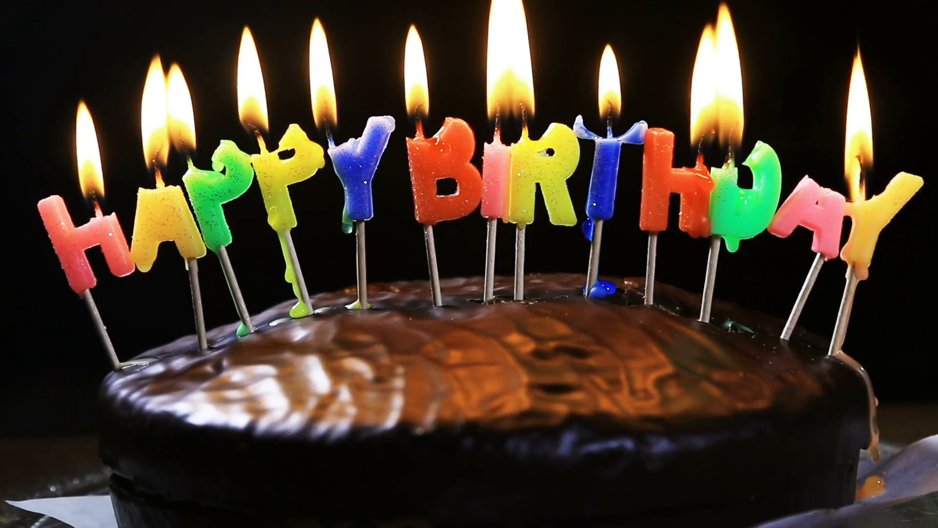 Best ideas about Happy Birthday Cake With Candles . Save or Pin lighted candles on a happy birthday cake candles with the Now.