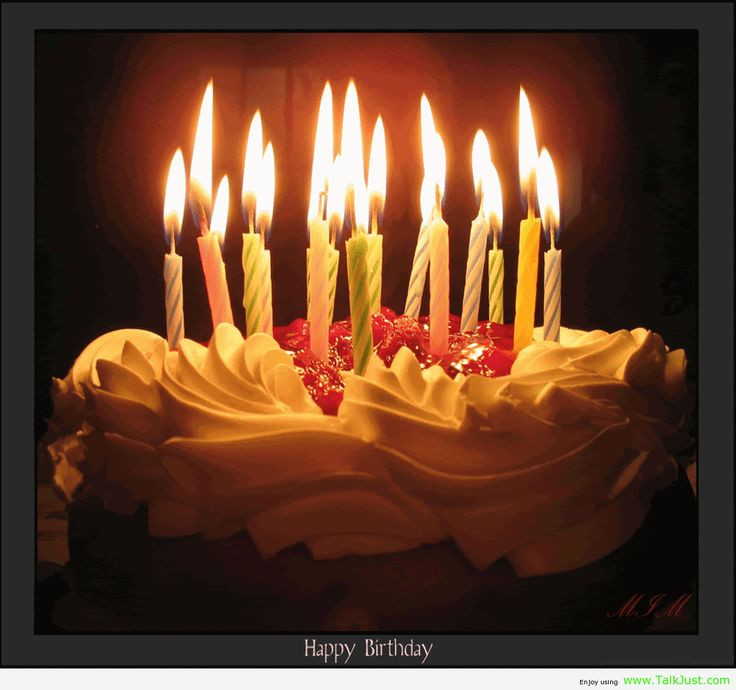 Best ideas about Happy Birthday Cake With Candles . Save or Pin Birthday Cake with Candles Now.