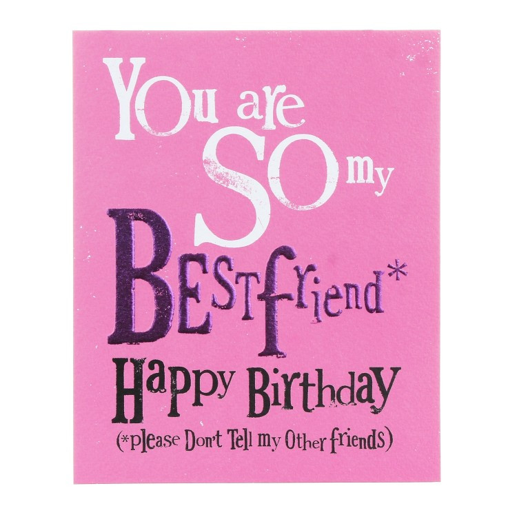 Best ideas about Happy Birthday Card For Best Friend . Save or Pin The Bright Side So My Best friend Happy Birthday Greetings Now.