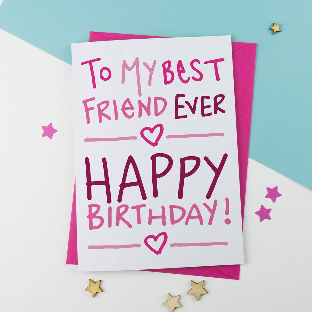 Best ideas about Happy Birthday Card For Best Friend . Save or Pin Happy Birthday Friend Now.