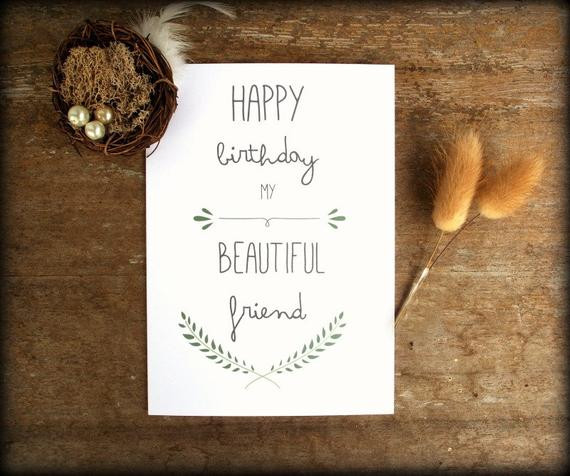 Best ideas about Happy Birthday Card For Best Friend . Save or Pin Printable Best Friend Birthday card Friend Birthday Card Now.