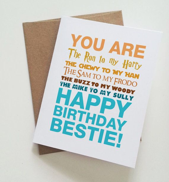 Best ideas about Happy Birthday Card For Best Friend . Save or Pin Best 25 Best friend birthday cards ideas on Pinterest Now.