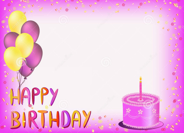 Best ideas about Happy Birthday Card Template . Save or Pin 72 Birthday Card Templates PSD AI EPS Now.