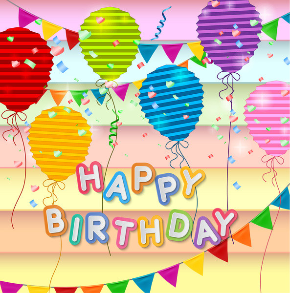 Best ideas about Happy Birthday Card Template . Save or Pin Free happy birthday images free vector Now.