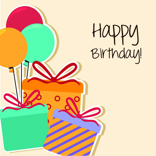 Best ideas about Happy Birthday Card Template . Save or Pin Cartoon style Happy Birthday greeting card template 02 Now.