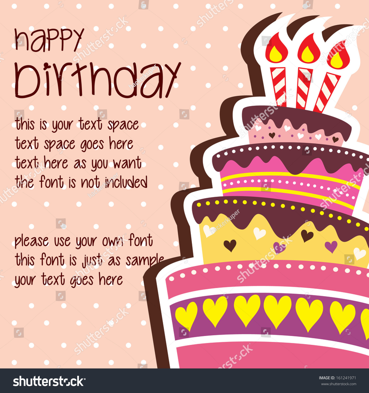 Best ideas about Happy Birthday Card Template . Save or Pin Birthday Card Template Now.