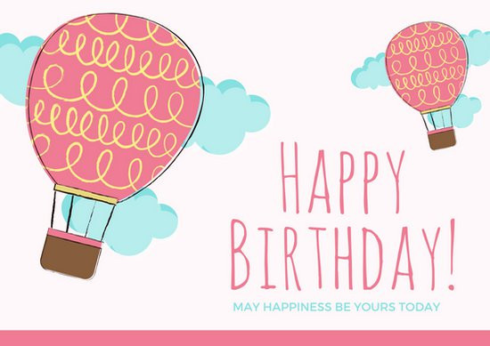 Best ideas about Happy Birthday Card Template . Save or Pin Customize 884 Birthday Card templates online Canva Now.