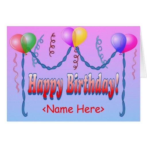 Best ideas about Happy Birthday Card Template . Save or Pin Happy Birthday Template Card Now.