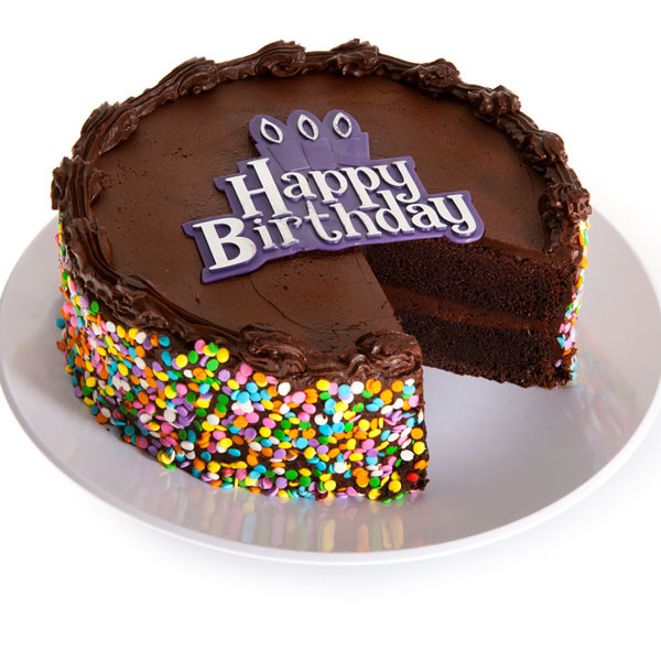 Best ideas about Happy Birthday Choco Cake . Save or Pin Chocolate Happy Birthday Cake by GourmetGiftBaskets Now.