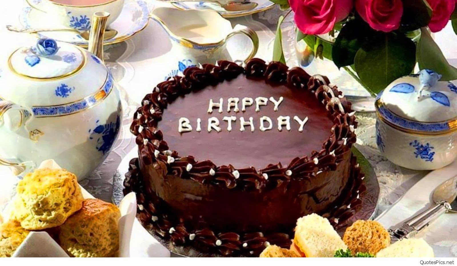 Best ideas about Happy Birthday Choco Cake . Save or Pin Amazing Happy Birthday cake wallpapers hd Now.