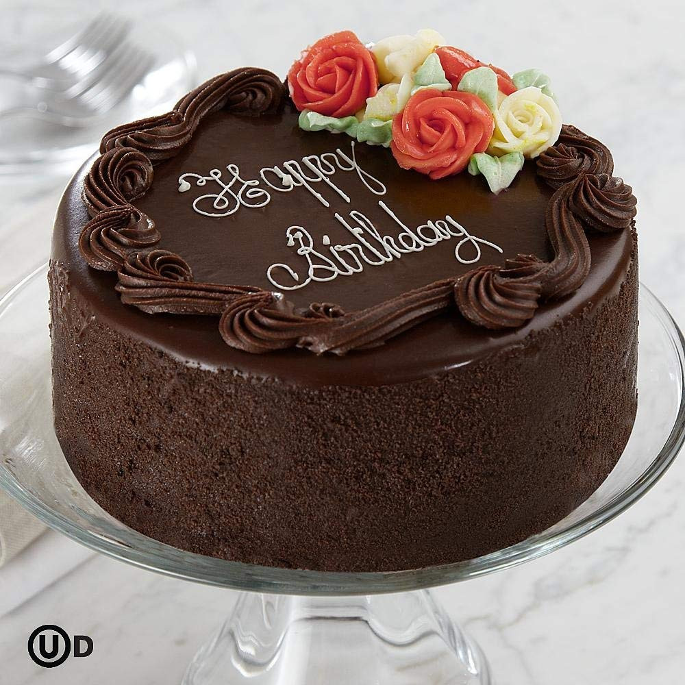 "Best ideas about Happy Birthday Choco Cake . Save or Pin Birthday Cake 6"" Three Layer Chocolate Happy Birthday Cake Now."