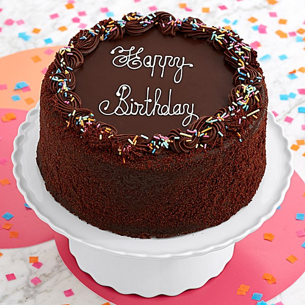 Best ideas about Happy Birthday Choco Cake . Save or Pin Three Layer Chocolate Happy Birthday Cake Now.