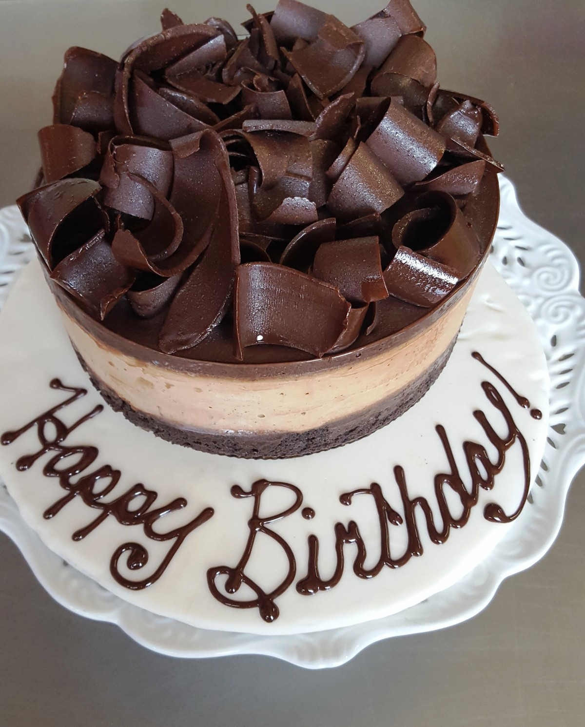Best ideas about Happy Birthday Choco Cake . Save or Pin Happy Birthday Chocolate Cake Gluten Free Specialty Cake Now.