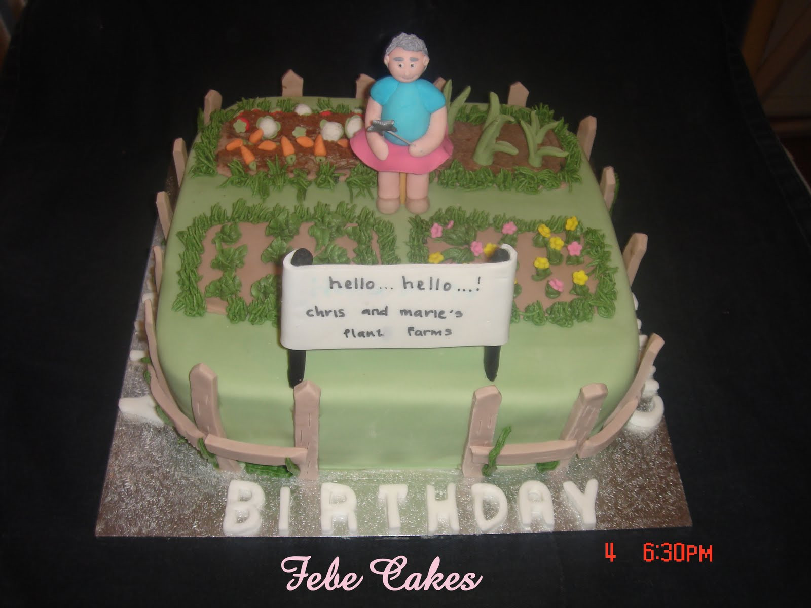 Best ideas about Happy Birthday Chris Cake . Save or Pin Febe Cakes Chris and Marie s Plant farms cake Now.