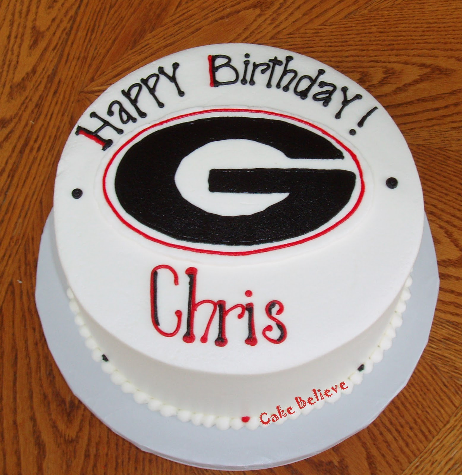 Best ideas about Happy Birthday Chris Cake . Save or Pin Cake Believe September 2010 Now.