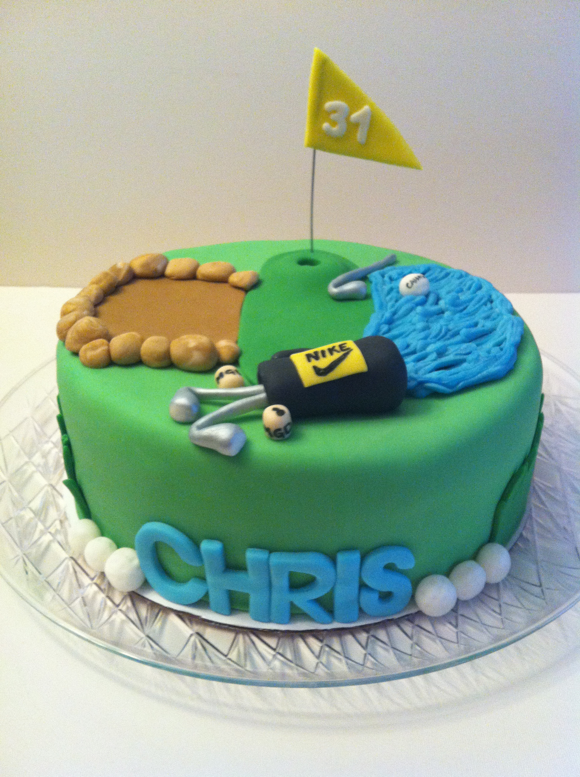 Best ideas about Happy Birthday Chris Cake . Save or Pin Golf Cake Now.