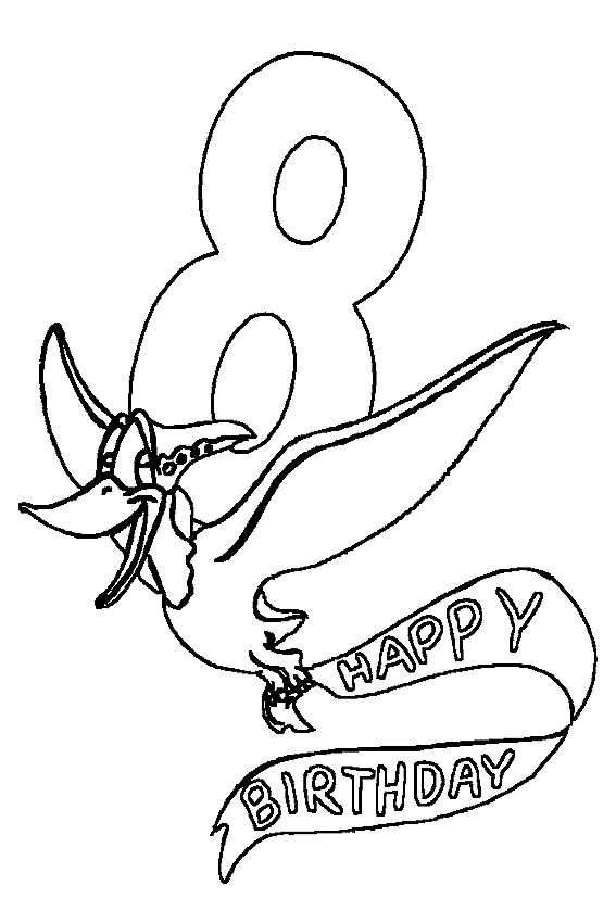 Best ideas about Happy Birthday Coloring Pages For Girls . Save or Pin Happy Birthday coloring pages to color in on your birthday Now.
