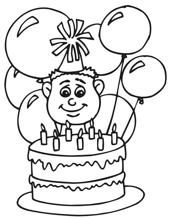 Best ideas about Happy Birthday Coloring Pages For Girls . Save or Pin Free Printable Happy Birthday Coloring Pages For Kids Now.