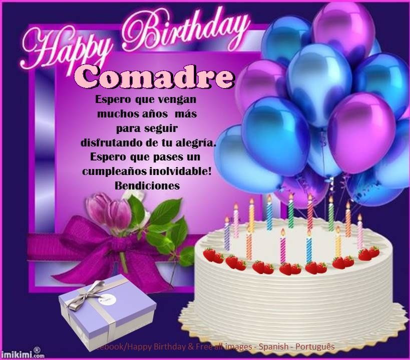 Best ideas about Happy Birthday Comadre Quotes . Save or Pin adre ┌iiiii┐Felz Cumpleaños ┌iiiii┐ Now.