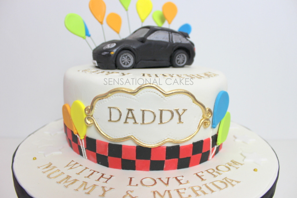 Best ideas about Happy Birthday Dad Cake . Save or Pin The Sensational Cakes PORSCHE 3D CAKE FOR DADDY RED Now.