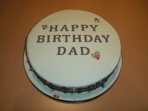 Best ideas about Happy Birthday Dad Cake . Save or Pin January 2013 Now.