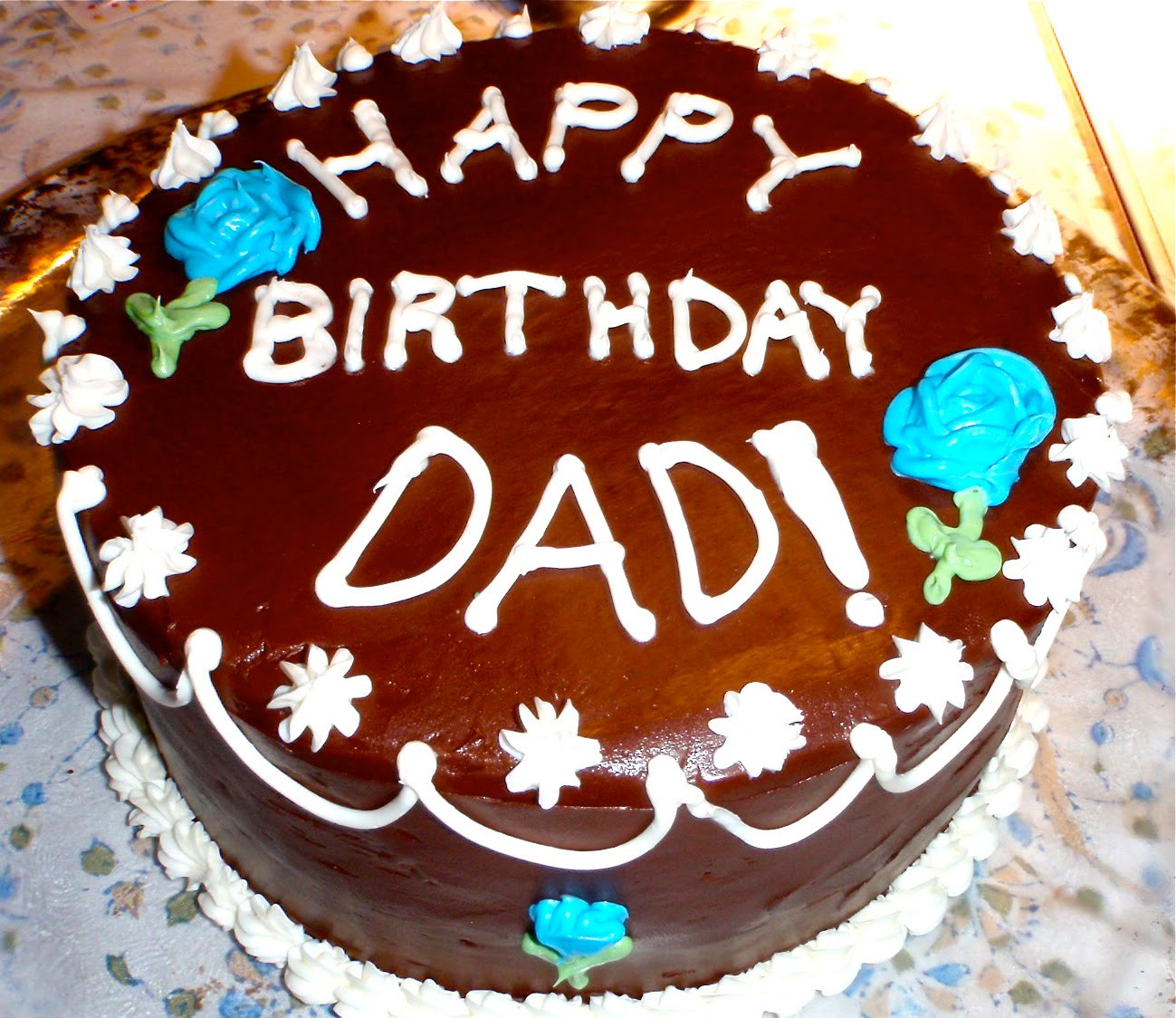 Best ideas about Happy Birthday Dad Cake . Save or Pin CAKES BY ARIANA AND CORRYN May 2010 Now.