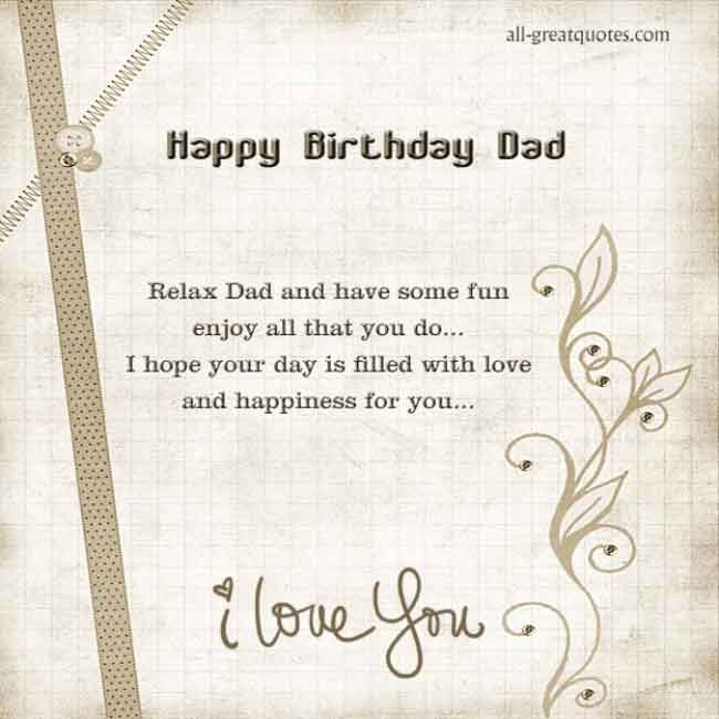Best ideas about Happy Birthday Dad In Heaven Quotes . Save or Pin HAPPY BIRTHDAY DAD IN HEAVEN QUOTES FOR FACEBOOK image Now.