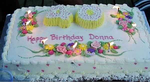 Best ideas about Happy Birthday Donna Cake . Save or Pin Happy birthday Donna Luxury Cruise Talk Now.
