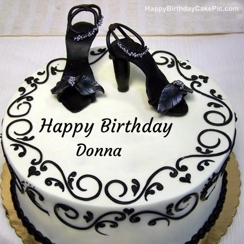 Best ideas about Happy Birthday Donna Cake . Save or Pin Fashion Happy Birthday Cake For Donna Now.