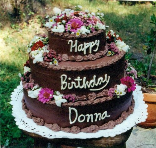 Best ideas about Happy Birthday Donna Cake . Save or Pin birthday Donna Now.