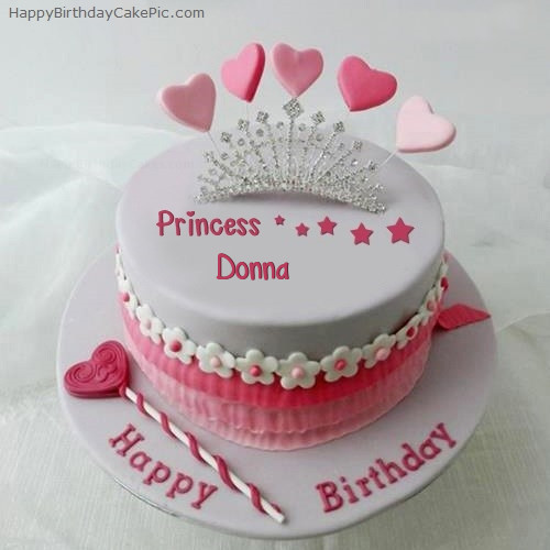 Best ideas about Happy Birthday Donna Cake . Save or Pin Princess Birthday Cake For Donna Now.