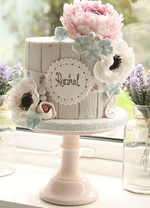 Best ideas about Happy Birthday Flowers And Cake . Save or Pin 31 Most Beautiful Birthday Cake for Inspiration Now.