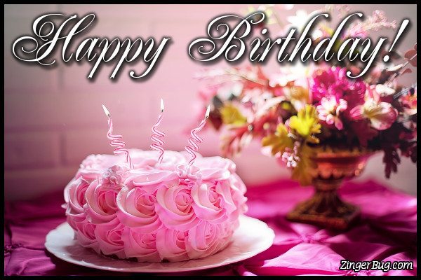 Best ideas about Happy Birthday Flowers And Cake . Save or Pin Birthday Candles Glitter Graphics ments GIFs Memes Now.